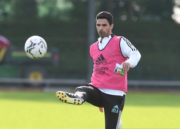 Arsenal fans love what Mikel Arteta has done during training session - Bóng Đá