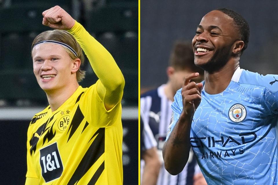 Man City's transfer pursuit of Erling Haaland vindicates Raheem Sterling's Barcelona call - Bóng Đá