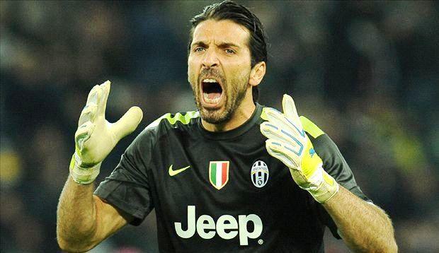 Buffon có pha cản phá xuất thần. Ảnh internet.