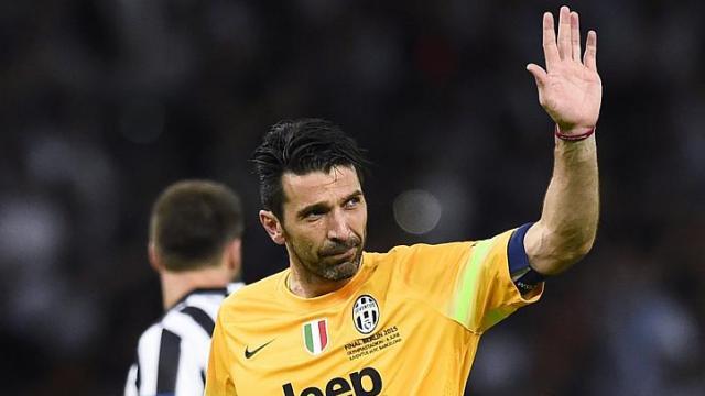 Buffon muốn chinh phục Champions League. Ảnh: Internet.