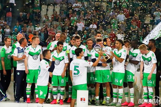 Wolfsburg giành siêu cúp Đức. Ảnh: Hà Bạch (từ Berlin).