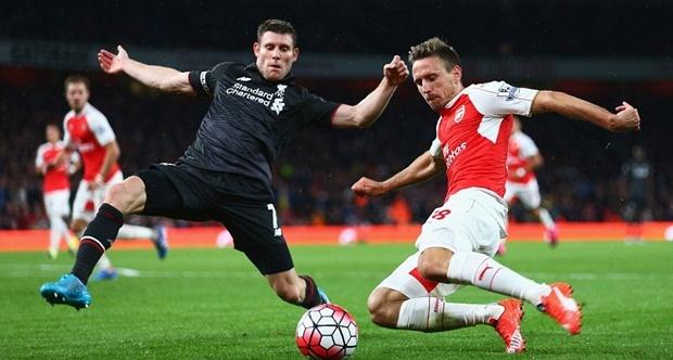 Arsenal và Liverpool đã cống hiến cho khán giả một trận cầu mãn nhãn với chất lượng chuyên môn tuyệt hảo. Ảnh: Internet.