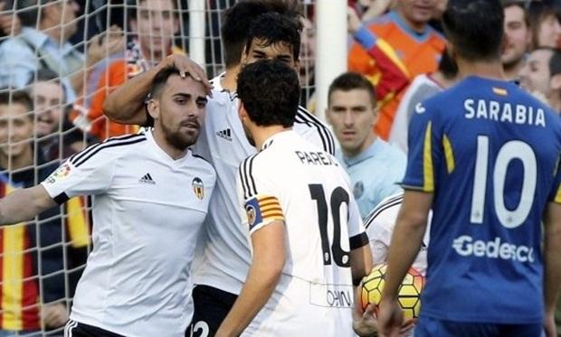Valencia bị Getafe cầm hòa trên sân nhà. Ảnh: Internet.