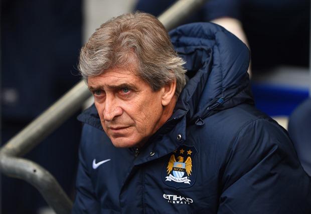 HLV Manuel Pellegrini hài lòng với thắng lợi của Man City. Ảnh: Internet.