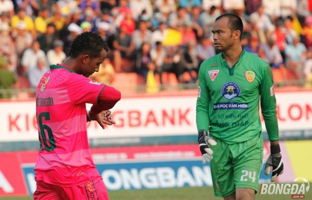 """CLB Hà Nội sẽ """"chuyển hộ khẩu"""" vào Tp. Hồ Chí Minh và đổi luôn tên thành Sài Gòn FC. Ảnh: Nhật Minh."""