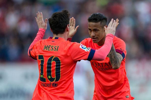 Hai nhóc tì của Buffon thần tượng Messi và Neymar