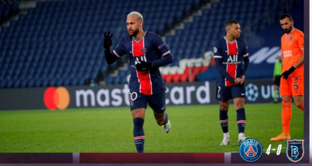 Thông kê siêu khủng của Neymar trong trận thắng 5-0 của PSG trước Istanbul - Bóng Đá