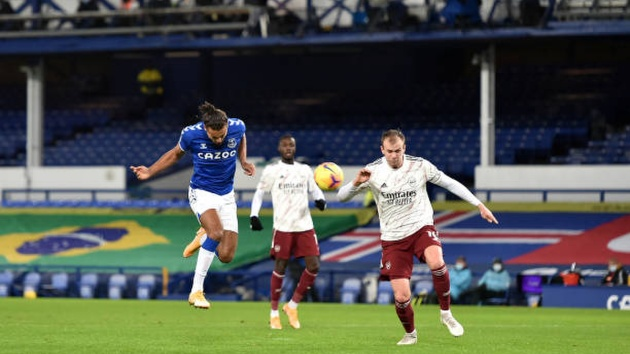 """3 Điếm nhấn Everton 2-1 Arsenal: """"Trò cưng"""" sẽ khiến Arteta bị sa thải?"""