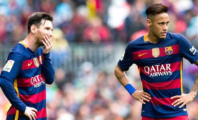 Neymar rời Barca là vì cái bóng của Messi - Bóng Đá