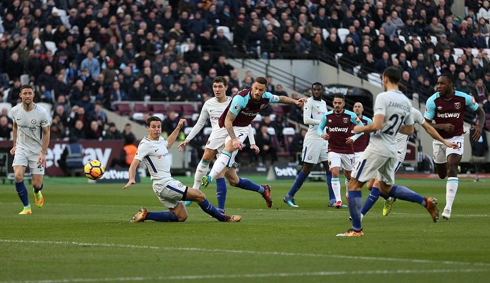 Thống kê thảm họa của Chelsea ở trận thua West Ham - Bóng Đá