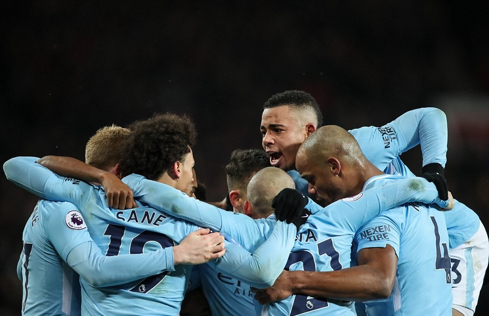 Chấm điểm Man City trận M.U: - Bóng Đá