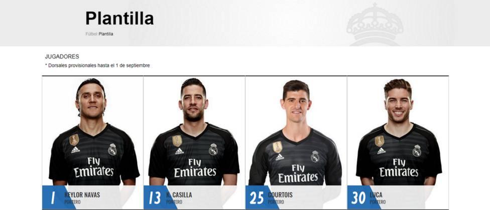 Thibaut Courtois nhận số áo lạ ở Real Madrid - Bóng Đá