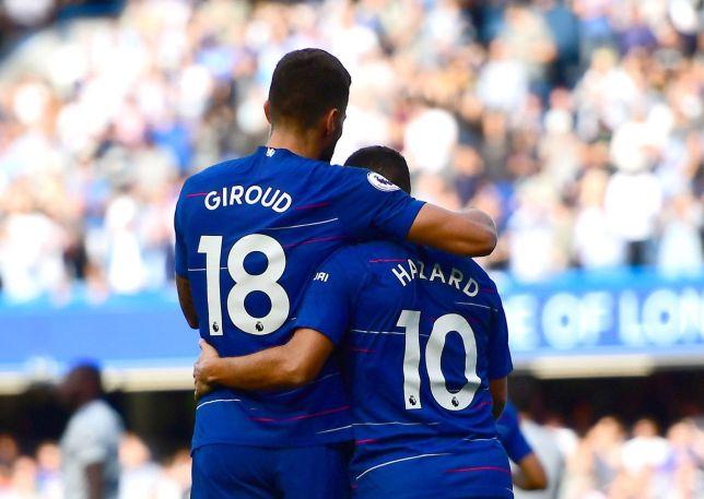 Lập hattrick, Hazard chọn ra người đá cặp hoàn hảo giữa Giroud và Morata - Bóng Đá