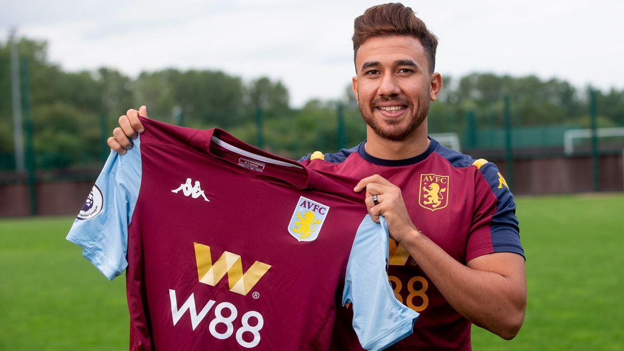 Trezeguet: Aston Villa sign Egyptian winger for £8.75m - Bóng Đá