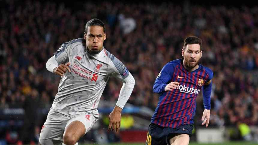 'An absolute joke!' Paul Merson fumes at Lionel Messi winning player of the year over Virgil van Dijk  - Bóng Đá