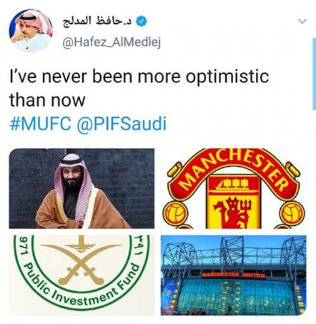 Saudi Arabia on Man Utd: I've never been optimistic than now - Bóng Đá