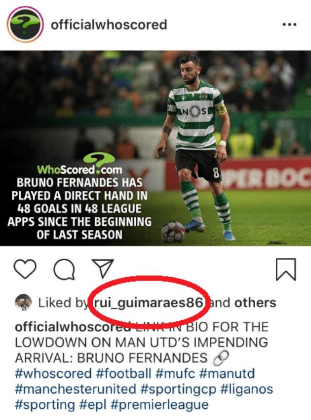 Bruno Fernandes' agent drops fresh Instagram hint over Manchester United transfer - Bóng Đá