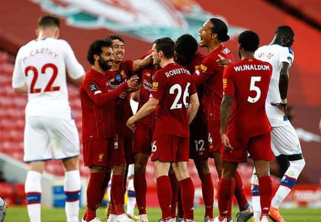 CHÍNH THỨC! Liverpool vô địch Premier League 2019/20 - Bóng Đá