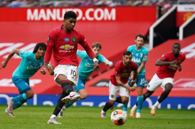 Why Marcus Rashford took Manchester United's penalty and not Bruno Fernandes - Bóng Đá