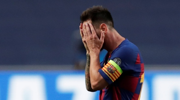 Manchester City 'believe they are in pole position to sign Lionel Messi' if the Barcelona legend decides to leave the Nou Camp  - Bóng Đá