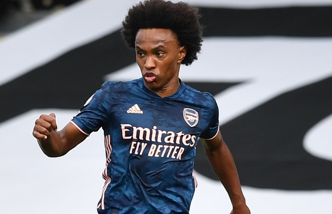 Hat-trick of assists. Willian means business for Arsenal - Bóng Đá
