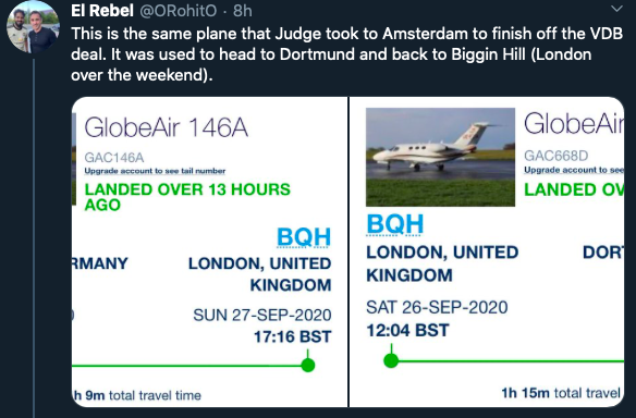 Why Man Utd fans believe Matt Judge has already flown to Dortmund for Jadon Sancho - Bóng Đá