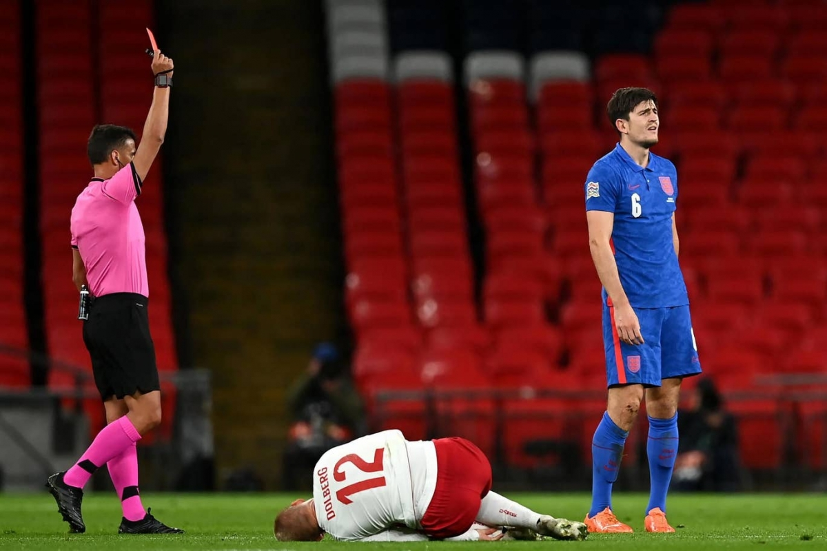Harry Maguire won't ask Ole Gunnar Solskjaer for a break despite tough few months - Bóng Đá