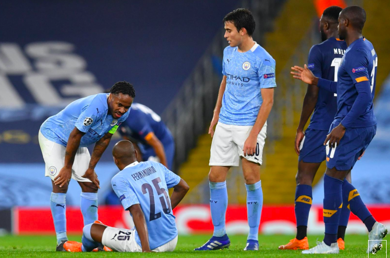 City's Fernandinho ruled out for 4-6 weeks, says Guardiola - Bóng Đá