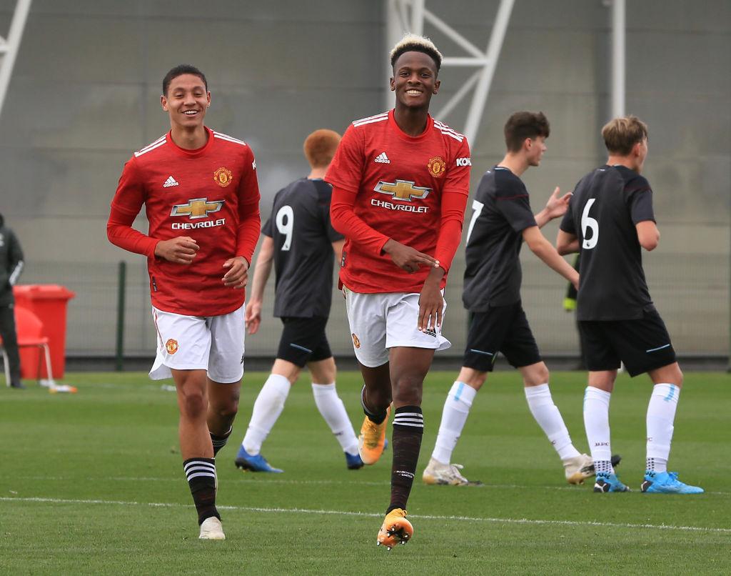 Manchester United teenager makes debut – scores a brace - Bóng Đá