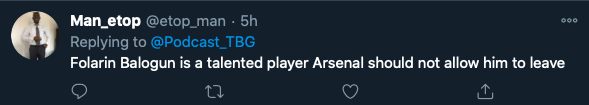 'Better than Firmino!' - Arsenal fans go nuts after Mikel Arteta's Folarin Balogun decision - Bóng Đá