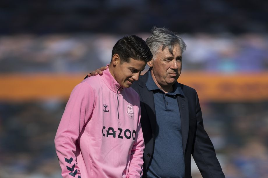 """Ancelotti: """"James Rodriguez was desperate in Real Madrid and now he's in the right place"""" - Bóng Đá"""