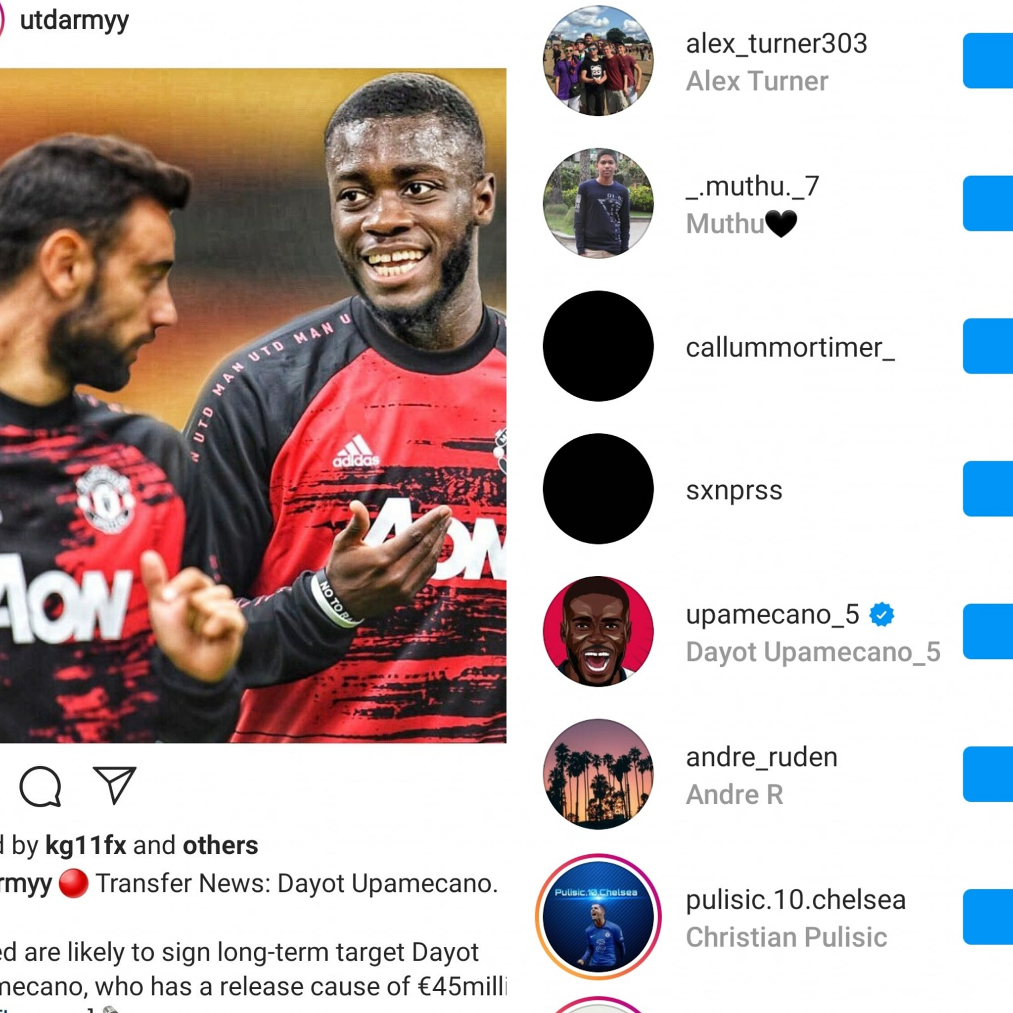 Dayot Upamecano drops cryptic Man Utd transfer hint on Instagram - Bóng Đá