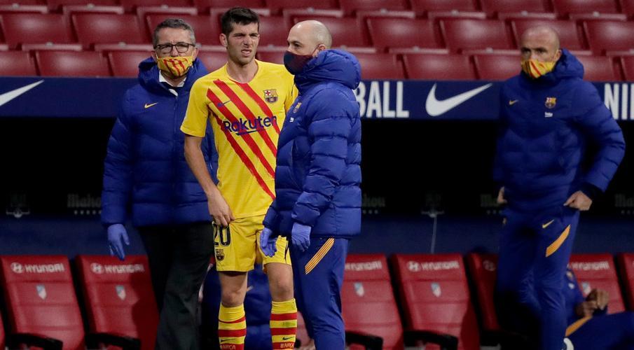 Pique sidelined with cruciate knee ligament injury, Barcelona confirm - Bóng Đá