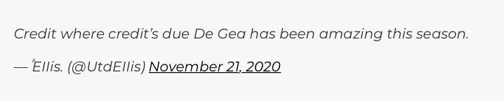 Manchester United fans react to David de Gea's performance - Bóng Đá