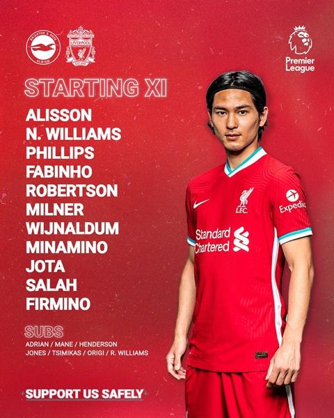 Jurgen Klopp explains decision to bench Sadio Mane for Liverpool's clash against Brighton - Bóng Đá