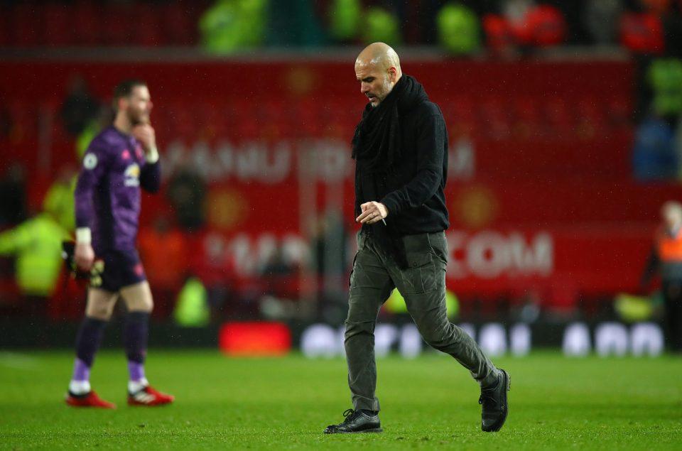 Guardiola dismisses Manchester City advantage over United ahead of derby - Bóng Đá