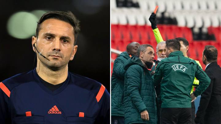 Sebastian Coltescu - Istanbul Basaksehir And PSG Players Walk Off During Champions League Clash After Accusing Fourth Official Of Racism - Bóng Đá