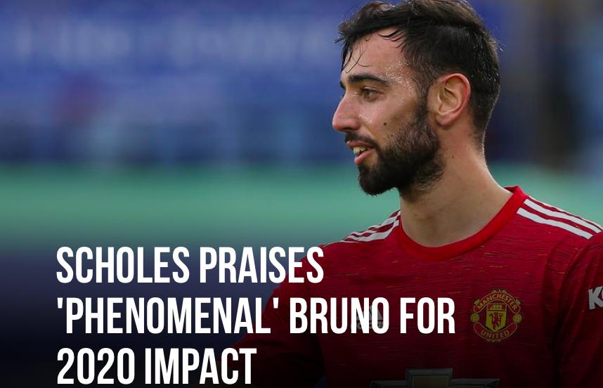 Paul Scholes has praised the 'phenomenal' impact Bruno Fernandes has had on Manchester United. - Bóng Đá