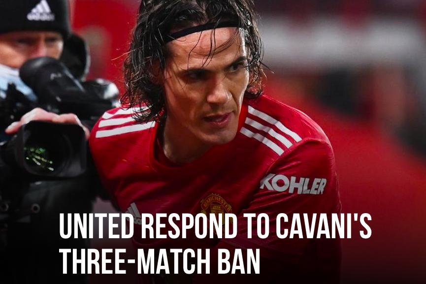 Cavani 3 match ban - Bóng Đá
