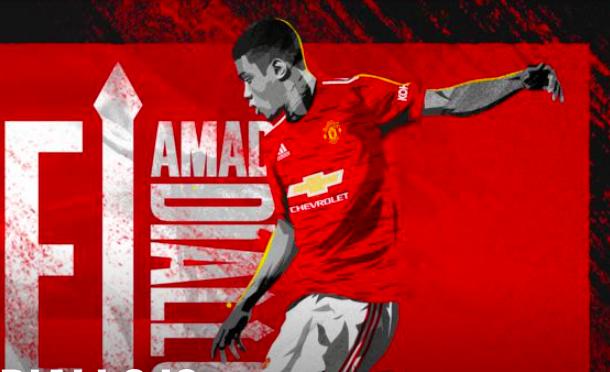 Amad Diallo is a Red - Bóng Đá