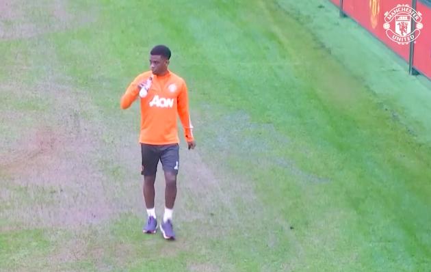 Amad Diallo first training - Bóng Đá