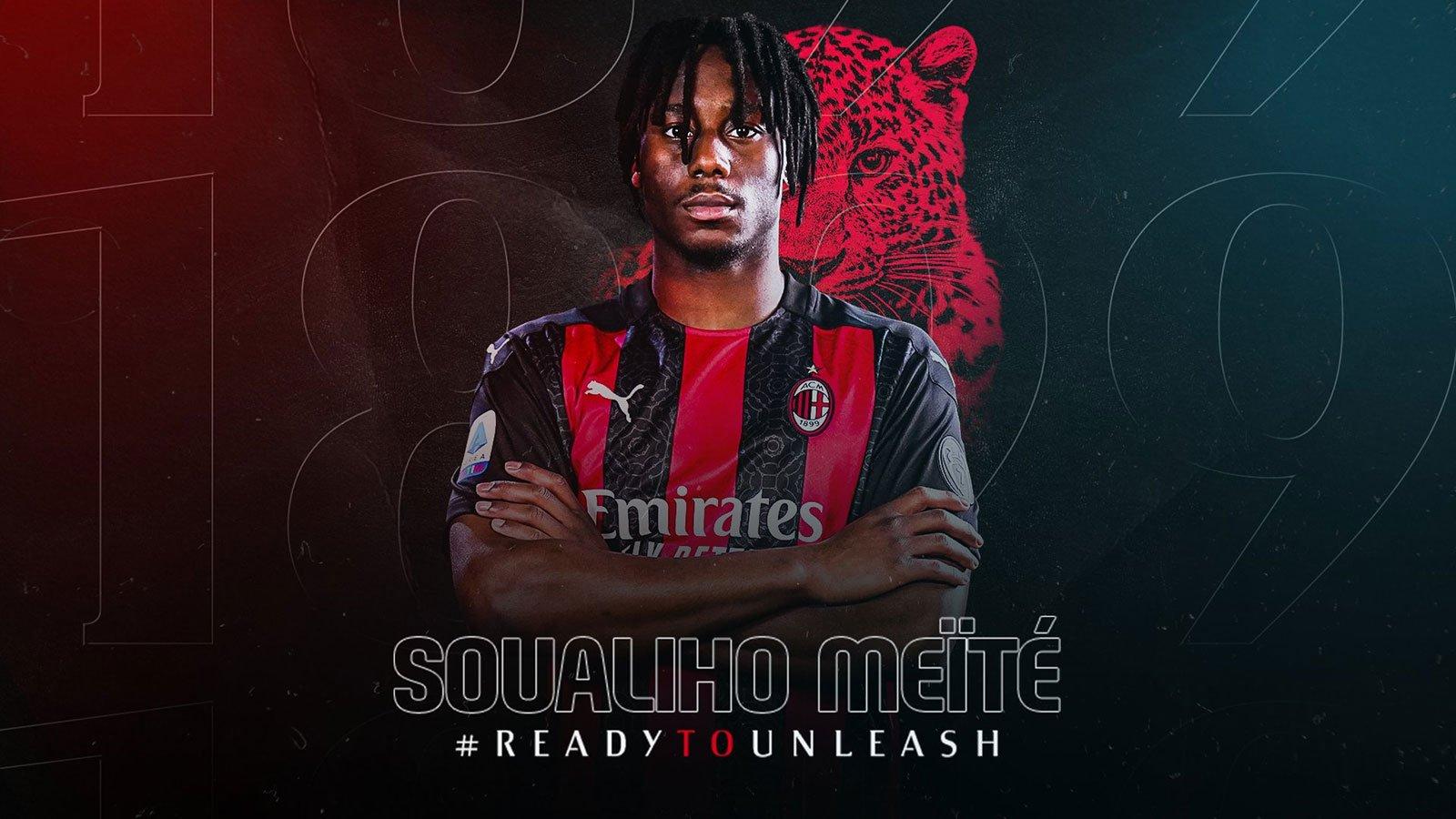 Soualiho Meite joins AC Milan - Bóng Đá
