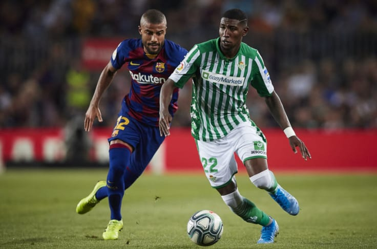 Paris Saint-Germain is interested in pushing for a €25 million permanent transfer deal to sign Real Betis defender and FC Barcelona loanee Emerson, - Bóng Đá