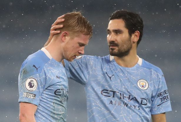 6 Man City fixtures Kevin De Bruyne could miss with Liverpool and Man Utd games approaching - Bóng Đá