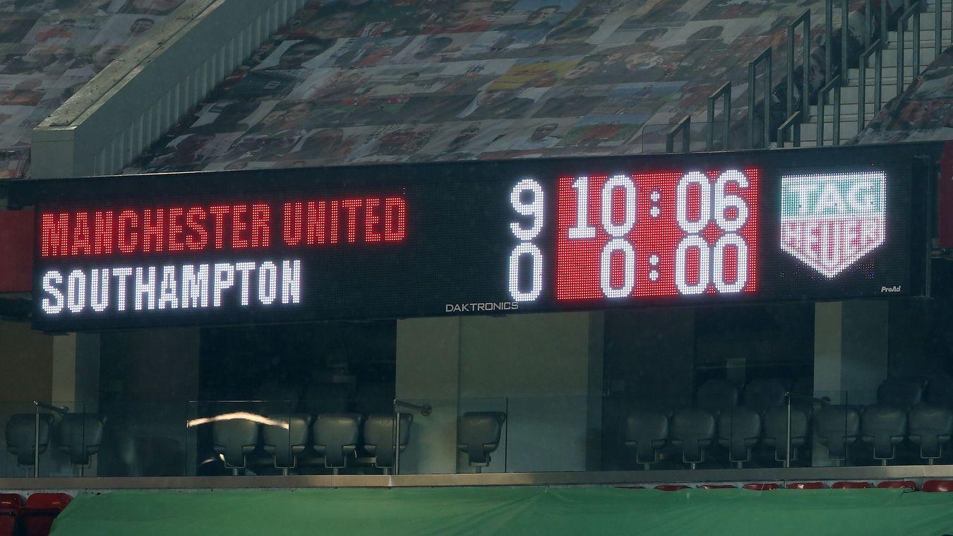 10 thống kê M.U 9-0 Southampton - Bóng Đá