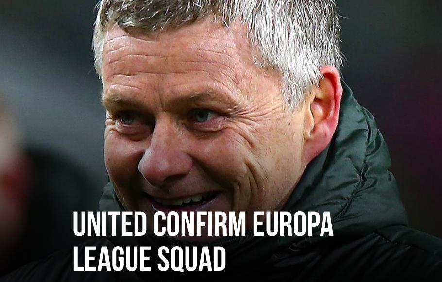 CHÍNH THỨC! Man Utd chốt danh sách dự Europa League: 2 gương mặt mới - Bóng Đá
