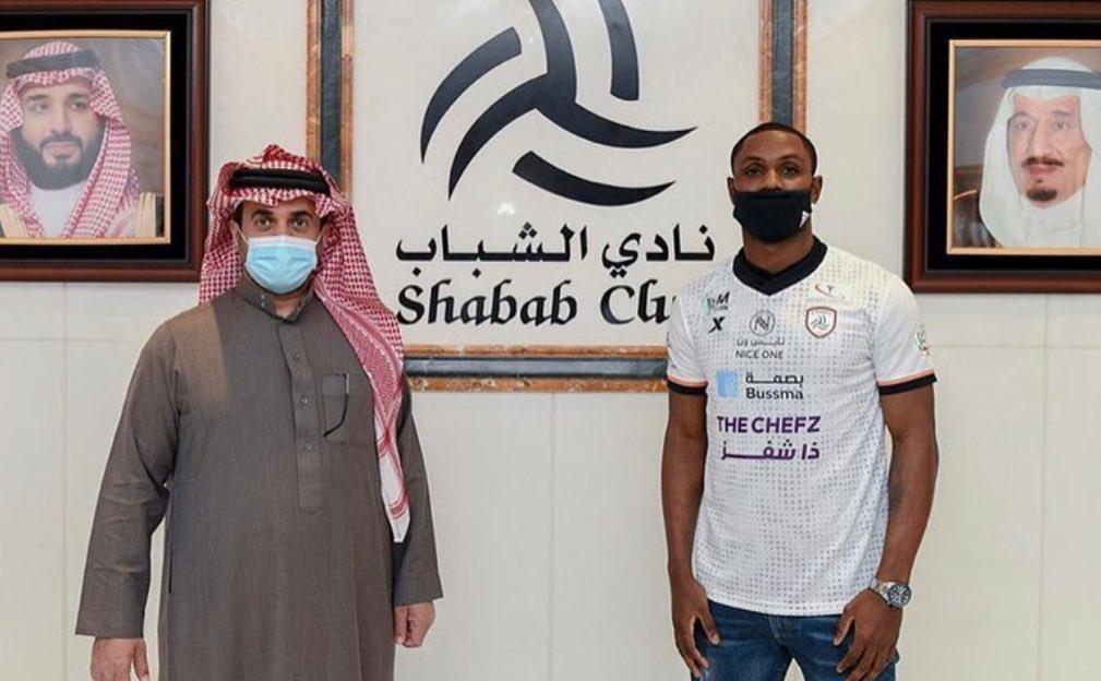 Ex-Manchester United striker Odion Ighalo completes Saudi - Bóng Đá