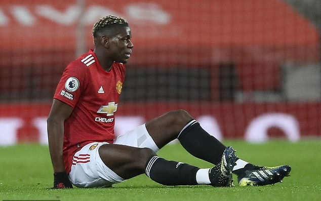 Paul Pogba picks up another injury at a time when he was becoming a pivotal team player for Manchester United...  - Bóng Đá