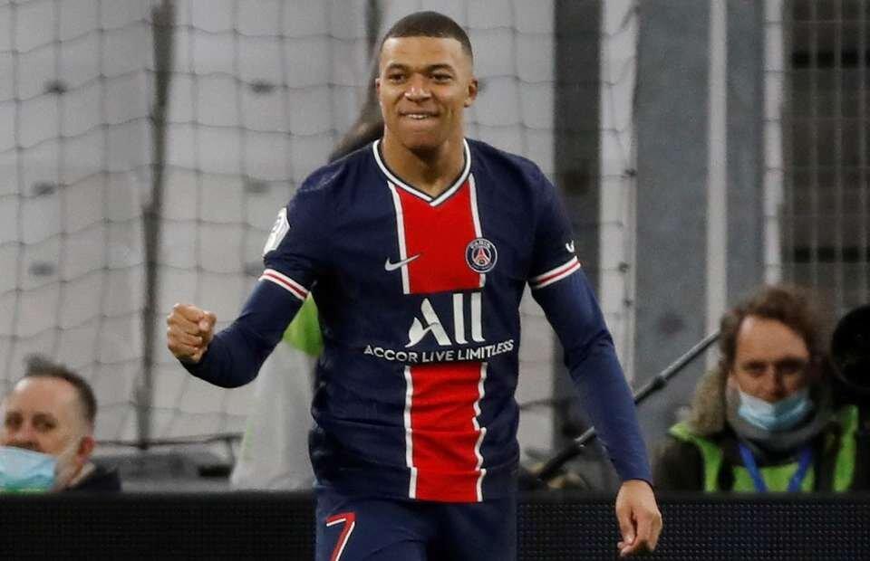 PSG's Kylian Mbappe hits ridiculous top speed vs Marseille - Bóng Đá