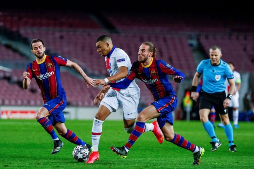 Thống kê Barcelona 1-4 PSG:  - Bóng Đá